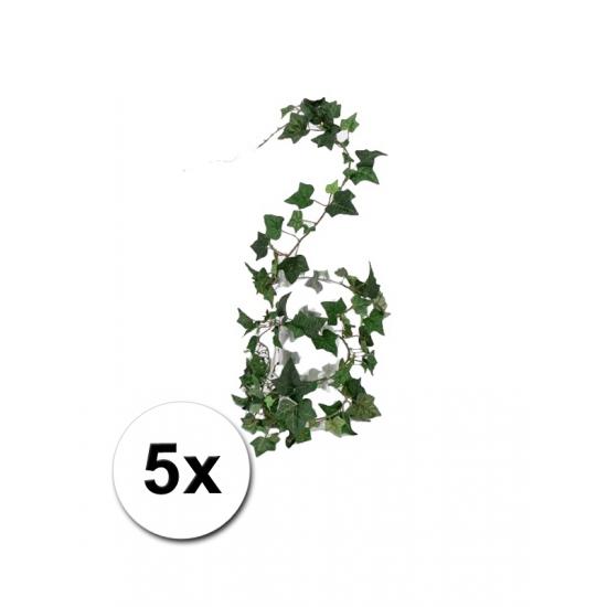 5 plastic klimop slingers 180 cm