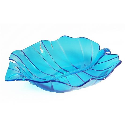 BBQ broodjes schaal blauw 32 cm