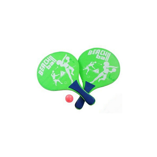 Beachball set met batjes