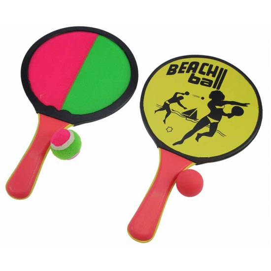 Beachball tennis spel 2 in 1