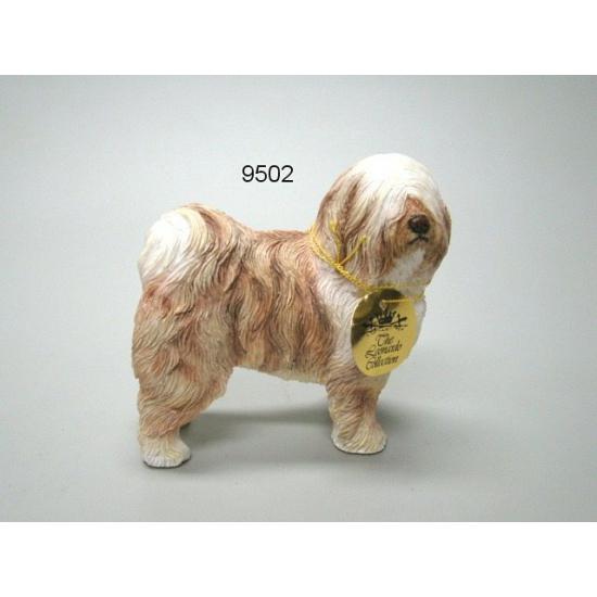 Beeldje Tibetaanse Terrier 12 cm