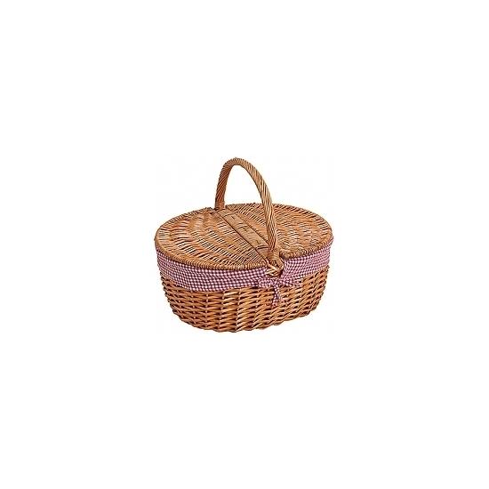 Bruine picknickmand 40 cm