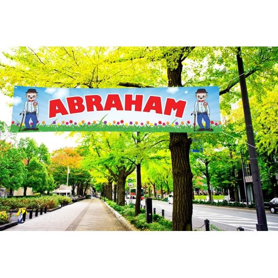 Buiten spandoek van Abraham