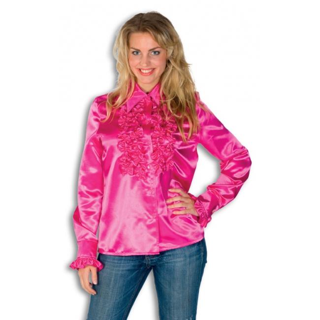 knalroze blouse