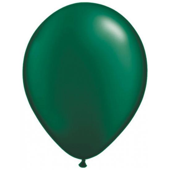 Donkergroene ballonnen Qualatex