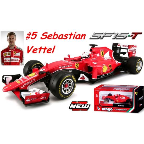 Ferrari SF15-T auto Sebastian Vettel 1:24