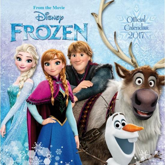 Frozen afbeeldingen kalender 2017