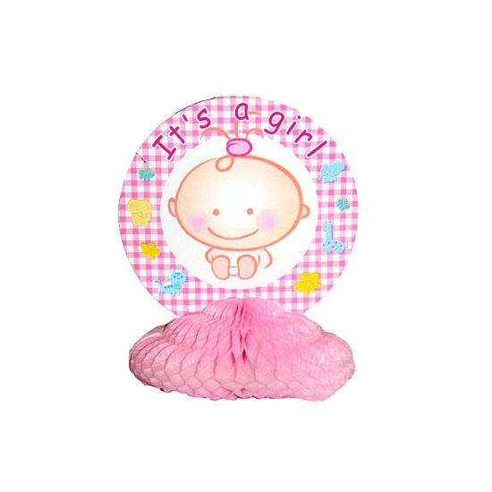 Geboorte tafeldecoratie meisje