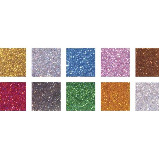 Glitter acryl mozaiek steentjes bont mix