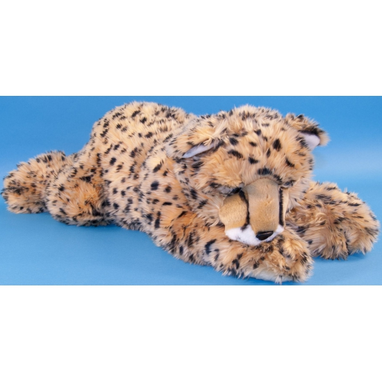 Grote pluche knuffel cheetah 70 cm