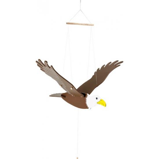 Houten decoratie adelaar 73 cm
