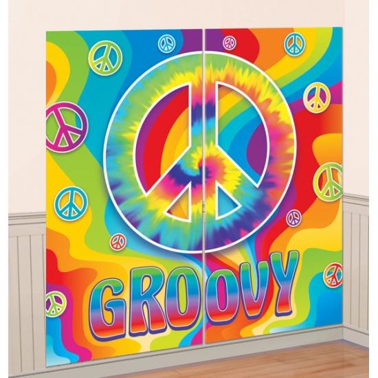 hippie feest decoratie