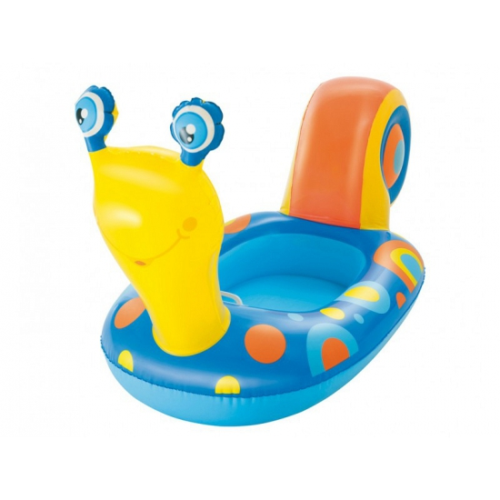 Kinder opblaasbaar bootje slak 163 cm