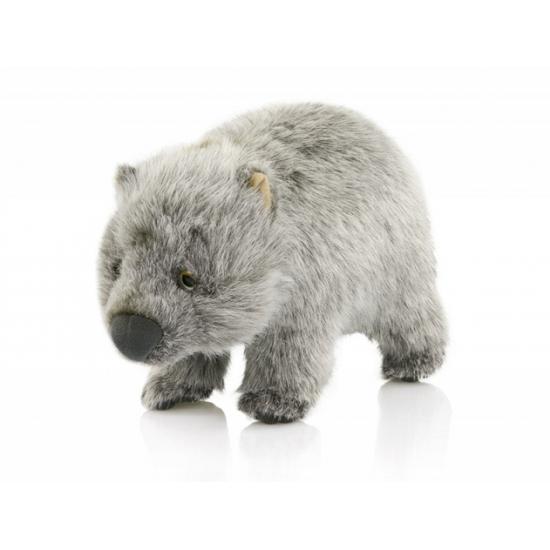 Knuffel knaagdier wombat 25 cm