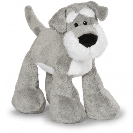 Knuffel Schnauzer hond 15 cm