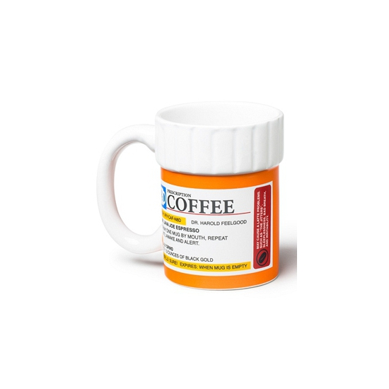 Koffie medicijn mok