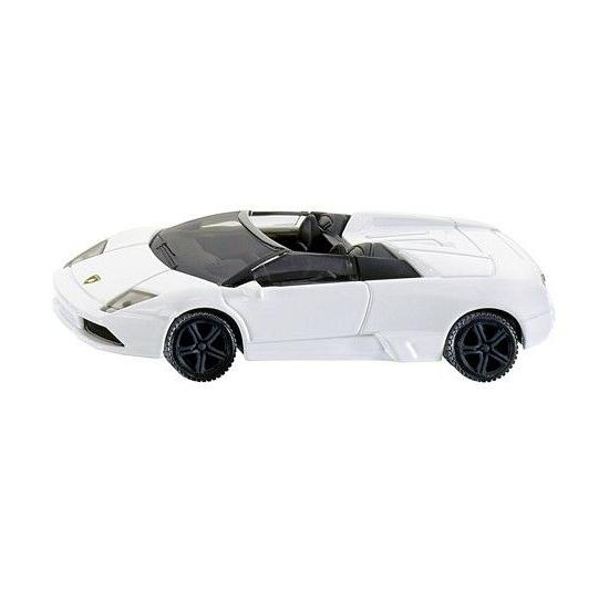 Lamborghini speelgoed witte cabrio 1318 Siku
