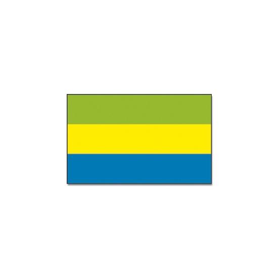 Landen vlag Gabon