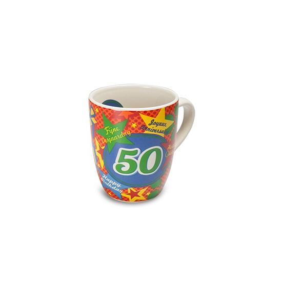 Leeftijd koffiemokken 50 jaar