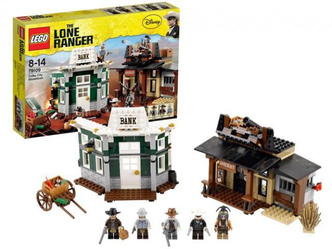 Lego Lone Ranger Colby City speelset