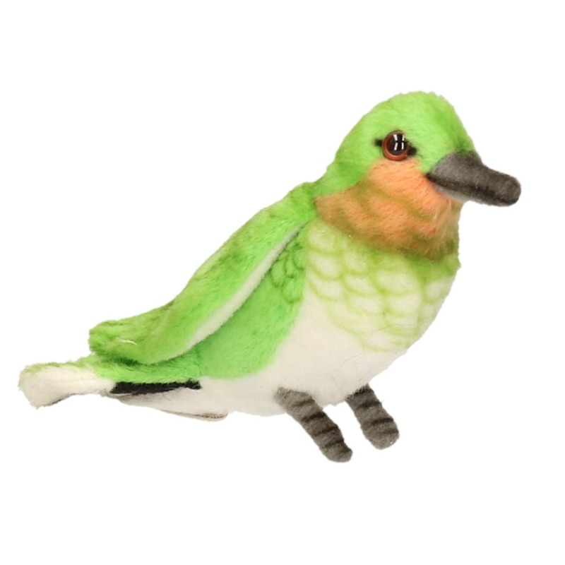 Luxe knuffel Kolibrie vogel 10 cm