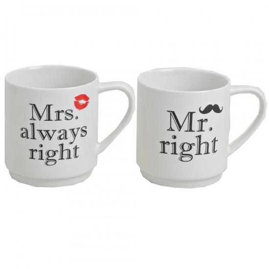 Mr and Mrs beker set