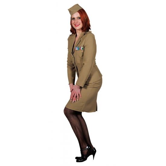Officier rok met jasje dames