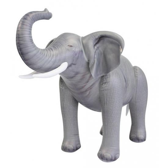Opblaas baby olifant van 61 cm