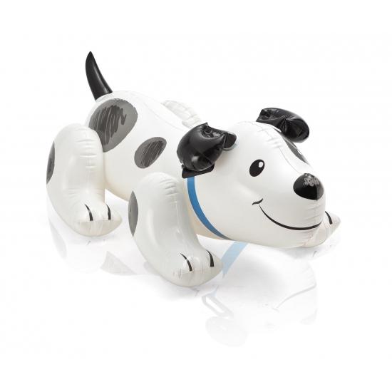 Opblaas honden 108 x 71 cm wit