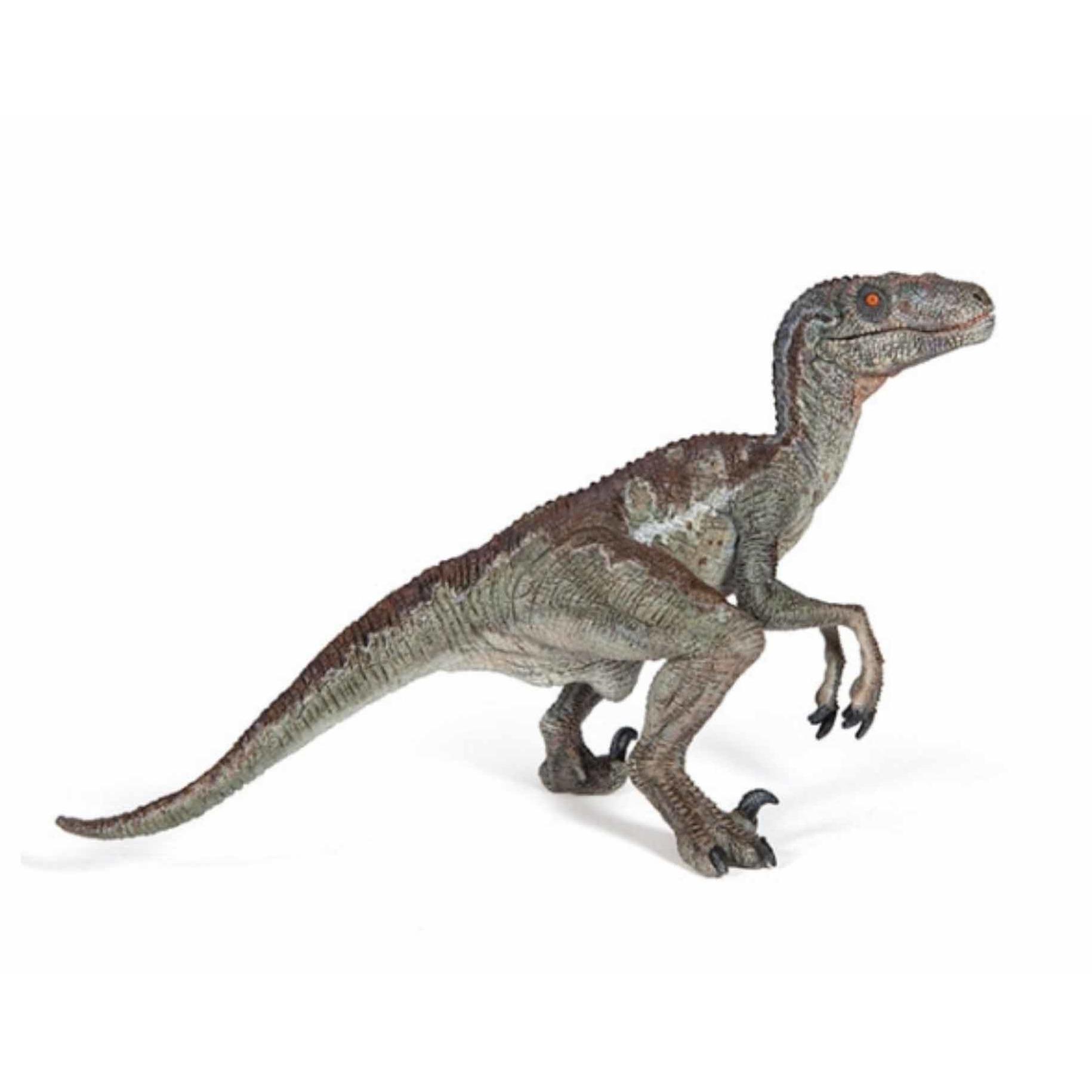 Plastic Papo velociraptor dinosaurus 15 cm
