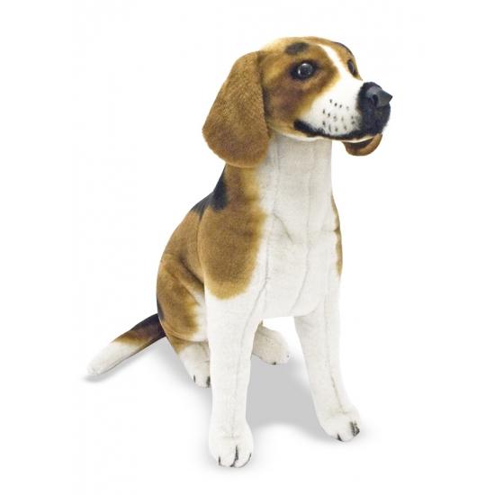 Pluche Beagle honden knuffels 56 cm