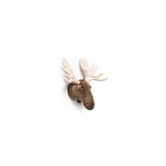 Pluche eland jacht trofee 57 cm