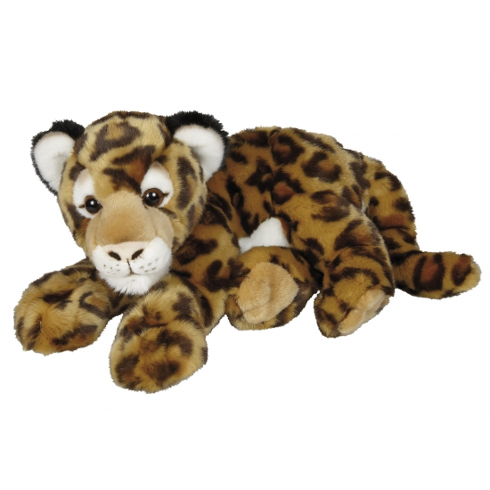86b46f3e0b84e5 Pluche jaguar knuffel 50 cm € 34.99. Bij: partyshopper.nl