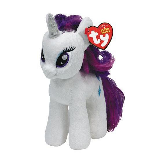 Pluche Little Pony Rarity 15 cm
