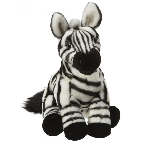 Pluche zebra knuffeltje 27 cm
