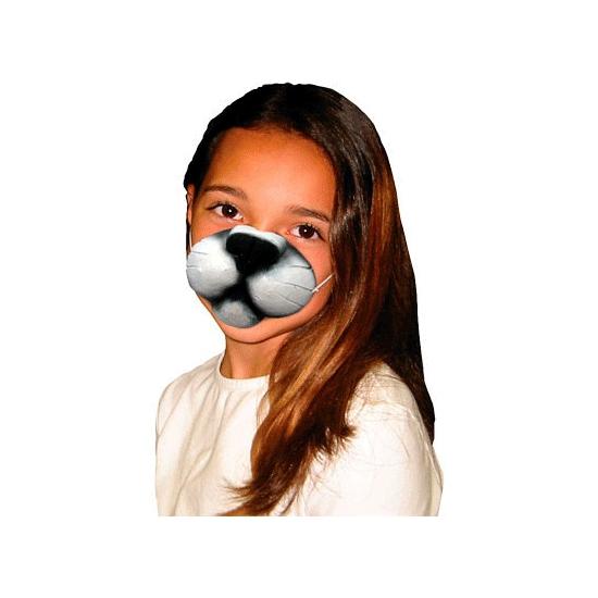 Kattenneus masker voor kinderen. plastic kattenneusje om u mee te vermommen. makkelijk vast te zetten ...