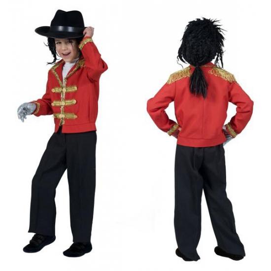 Rood MJ verkleed jasje voor kids