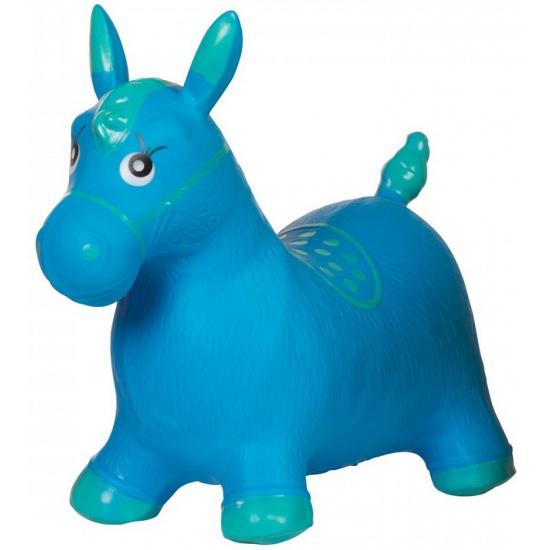 Skippybal paard blauw
