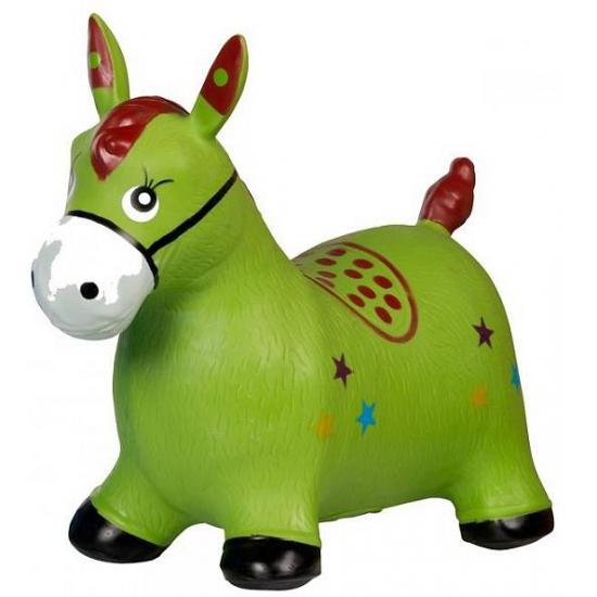 Skippybal paard groen