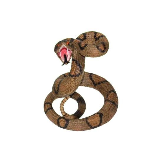 Speelgoed ratelslang 15 cm