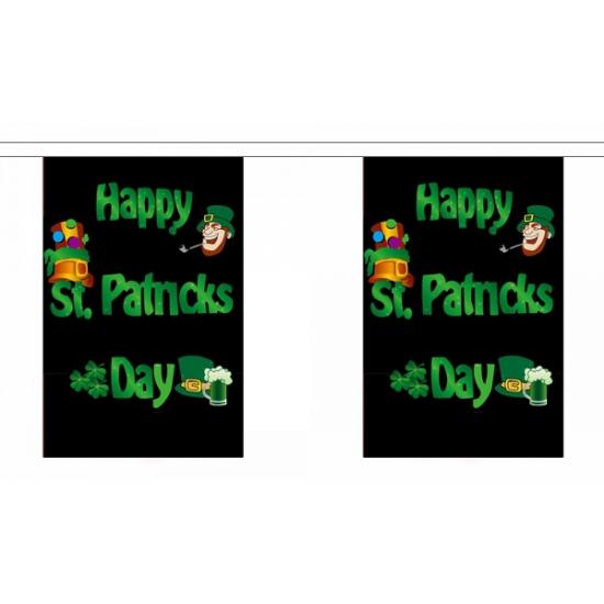 St. Patricksday vlaggenlijn van polyester