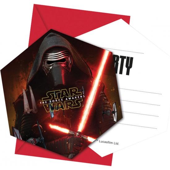 Star Wars feestje uitnodigingen
