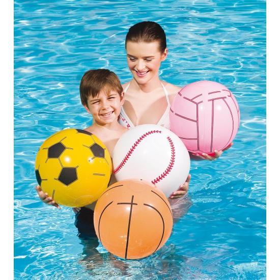 Strand volleybal opblaasbaar 41 cm