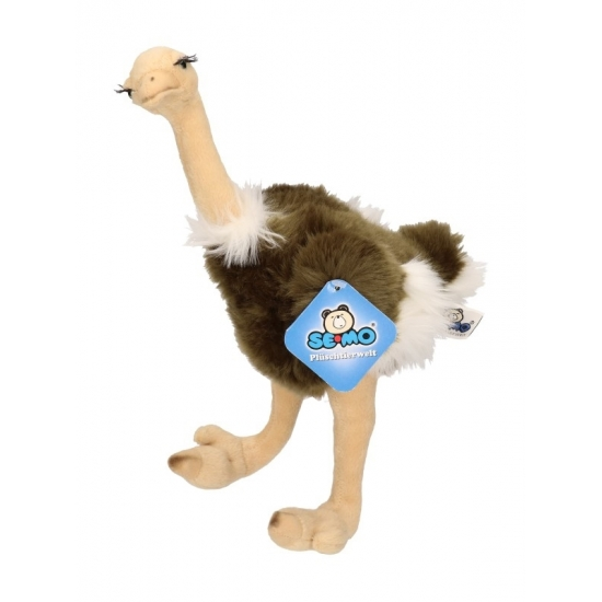 Struisvogel knuffels 30 cm