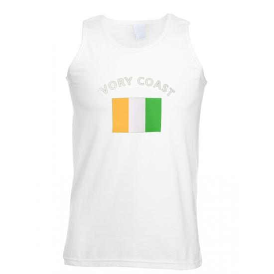 T-shirt vlaggen Ivoorkust