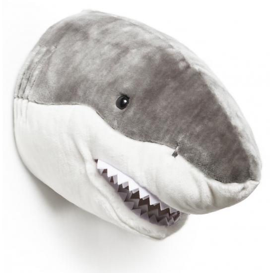 Trofee haaien kop pluche
