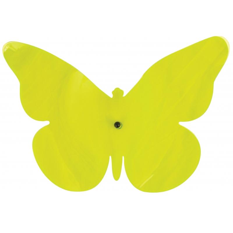 Tuinversiering deco vlinder groen 25 cm