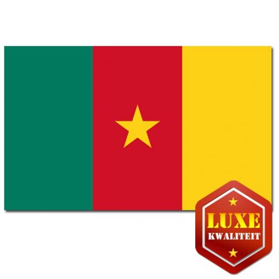 Vlaggen van Kameroen 100x150 cm
