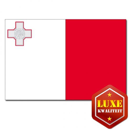 Vlaggen van Malta 100x150 cm