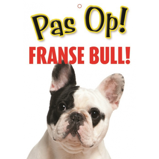 Waakbord Franse Bull hond